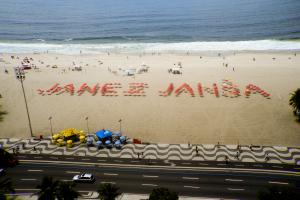 Signature (Copacabana), Rio de Janeiro, 2008 Action
