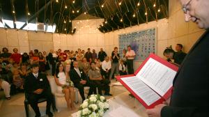 Poroka Marcela Okretic in Janez Janša (Davide Grassi)