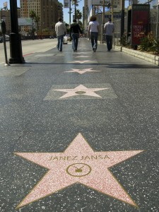 Signature (Hollywood Walk of Fame), Los Angeles, 2007, Action