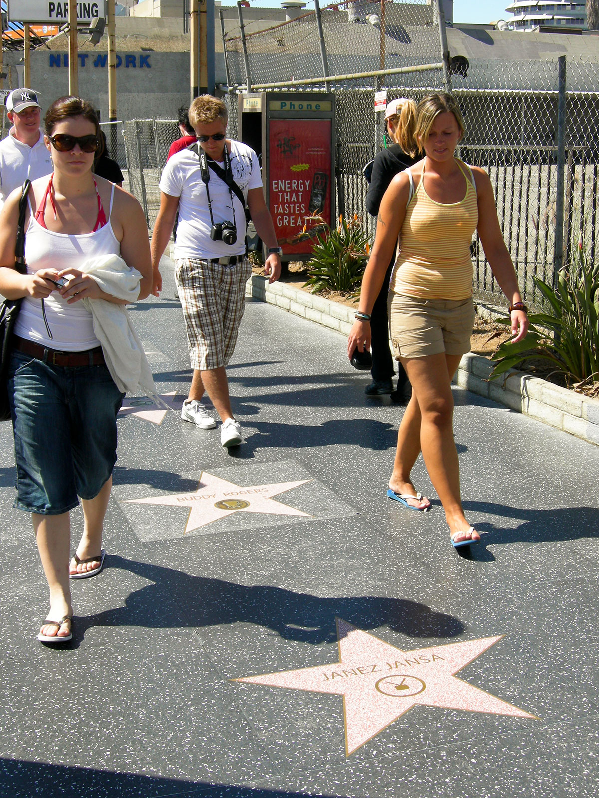Signature (Hollywood Walk of Fame), Los Angeles, 2007